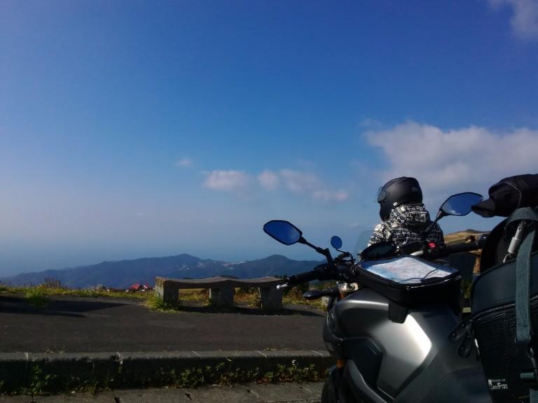 西伊豆スカイラインの風景